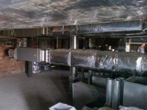 Воздуховоды из оцинкованной стали прямоугольного сечения